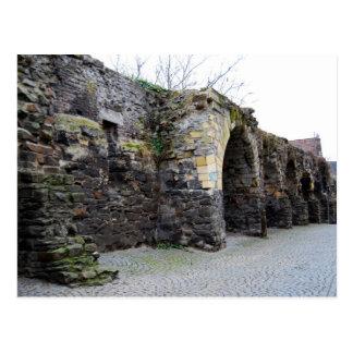 The Old Roman City Wall Postcard