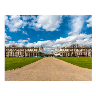 The Old Royal Naval College, Greenwich, England Postcard