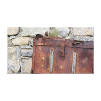 The Old Rusty Chest Canvas Print