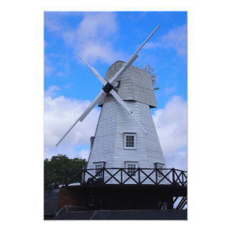 The Old Rye Windmill Art Photo