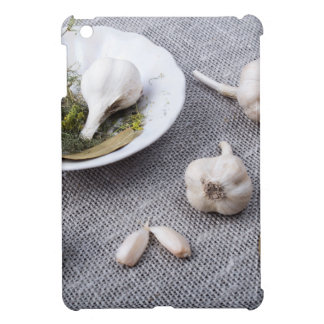 The old saucer, garlic and spices iPad mini covers