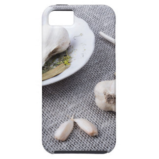 The old saucer, garlic and spices iPhone 5 cases