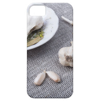 The old saucer, garlic and spices iPhone 5 cover