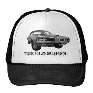 THE OLD SCHOOL CAR TRUCKER HATS