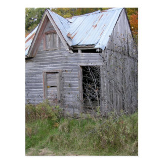 The old school postcard