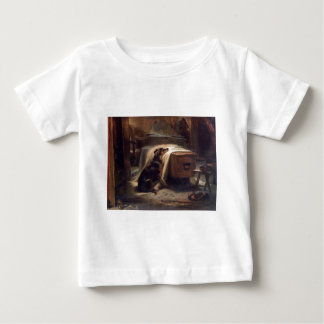 The Old Shepherd's Chief Mourner by Edwin Henry Baby T-Shirt