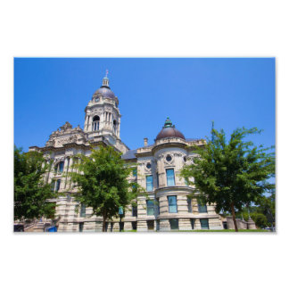 The Old Vanderburgh County Courthouse Photo Print