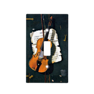 The Old Violin Light Switch Cover