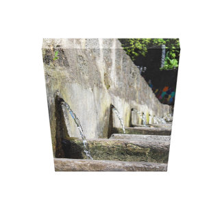 The old washhouse canvas print
