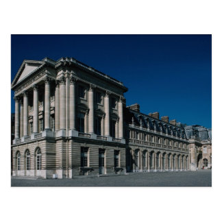The old wing, Palace of Versailles, 1662-70, archi Postcard