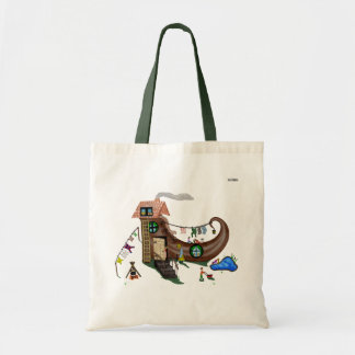 The Old Woman In The Shoe Tote Bag