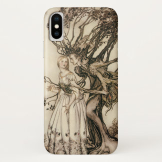 The Old Woman in the Wood by Arthur Rackham Case-Mate iPhone Case