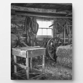 The Old Workshop Plaque