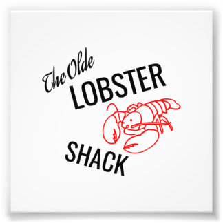 The Olde Lobster Shack Photo Print