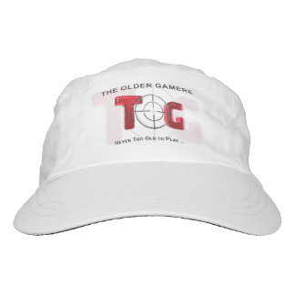 The Older Gamers Cap - Red Logo