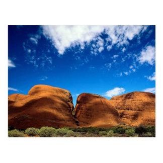 The Olgas, Uluru National Park, Northern Territory Postcard