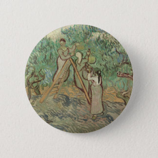 The Olive Orchard 2 Inch Round Button