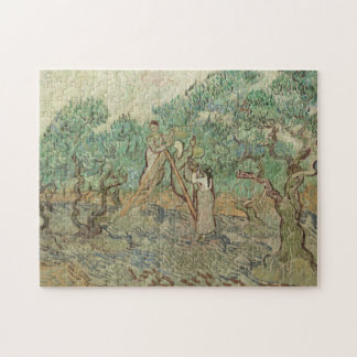The Olive Orchard Jigsaw Puzzle