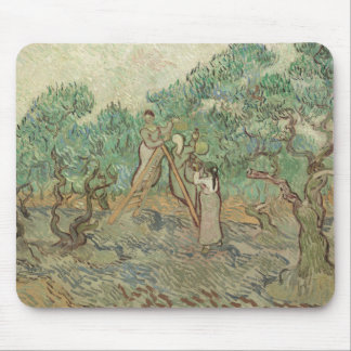 The Olive Orchard Mouse Pad