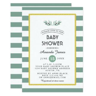 The Olive Spring Bridal Shower Invitation Card