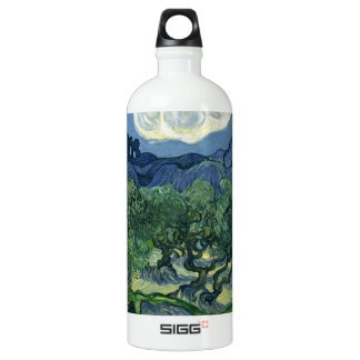 The Olive Trees by Van Gogh Fine Art Water Bottle