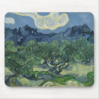 The Olive Trees by Vincent Van Gogh Mouse Pad