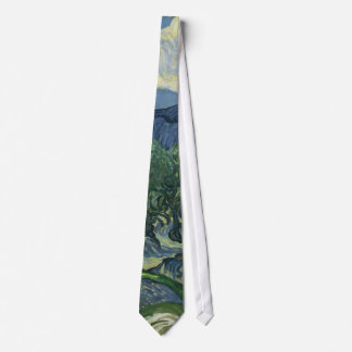 The Olive Trees by Vincent Van Gogh Tie