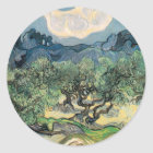 The Olive Trees Classic Round Sticker