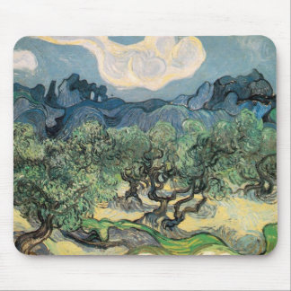 The Olive Trees Mouse Pad