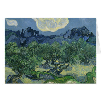The Olive Trees - Van Gogh Card