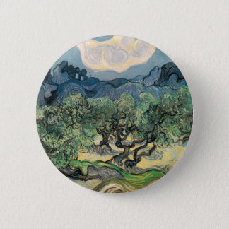 The Olive Trees, Vincent van Gogh 2 Inch Round Button