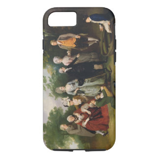 The Oliver and Ward Families in a Garden, c.1788 ( iPhone 7 Case