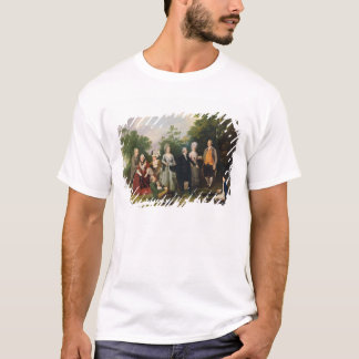 The Oliver and Ward Families in a Garden, c.1788 ( T-Shirt