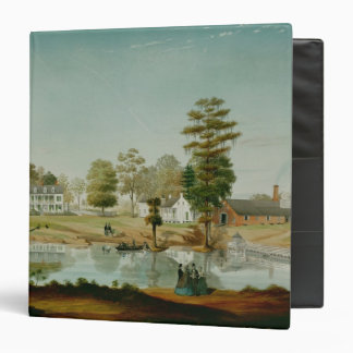 The Olivier Plantation, 1861 Vinyl Binder