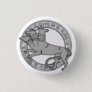 The Olympians! Hades / Pluto symbol badge 1 Inch Round Button
