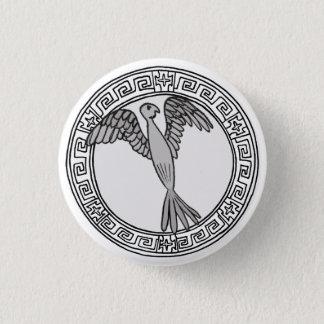 The Olympians! Hera / Juno symbol badge 1 Inch Round Button
