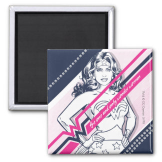 The One And Only Wonder Woman' Retro Graphic Magnet