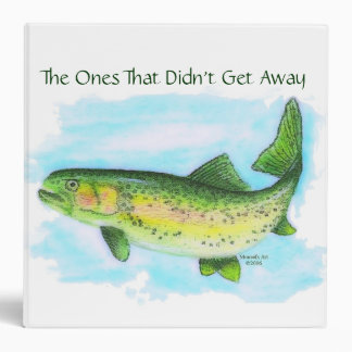 The Ones That Didn't Get Away Trout Photo Binder
