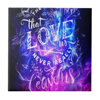 The Ones that Love Us Amethyst Dreams Ceramic Tile