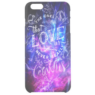 The Ones that Love Us Amethyst Dreams Clear iPhone 6 Plus Case
