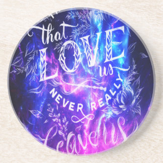 The Ones that Love Us Amethyst Dreams Coasters