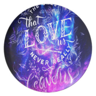 The Ones that Love Us Amethyst Dreams Dinner Plates
