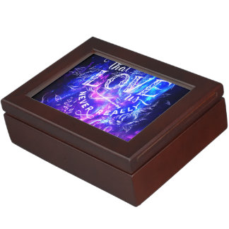 The Ones that Love Us Amethyst Dreams Keepsake Box
