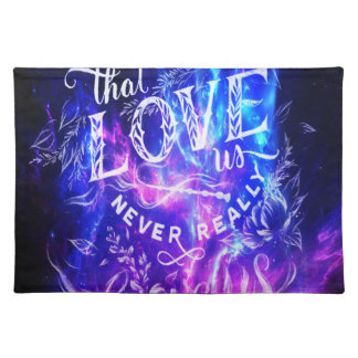 The Ones that Love Us Amethyst Dreams Placemat