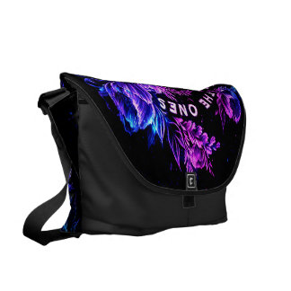 The Ones that Love Us in Amethyst Winter Dreams Messenger Bag