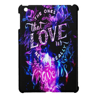The Ones that Love Us in Amethyst Winter Sky iPad Mini Cover