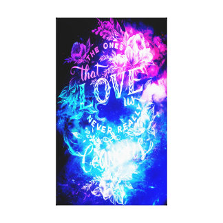 The Ones that Love Us in Creation's Heaven Canvas Print