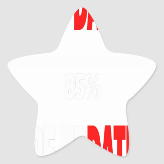 The only dates i get are updates star sticker