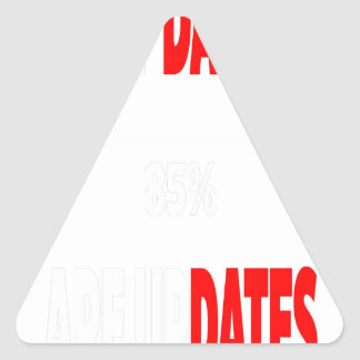 The only dates i get are updates triangle sticker