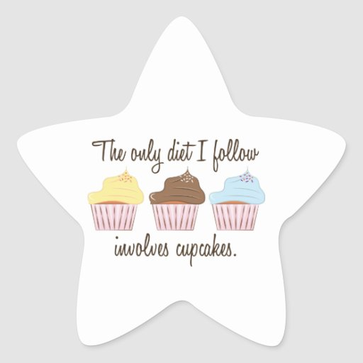 The only dietg I follow involves cupcakes. Stickers